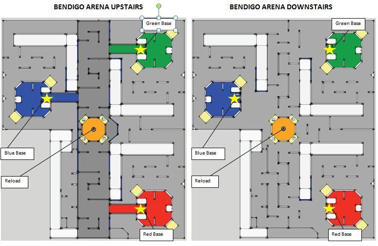 The Zone, Bendigo (Australia) - Arena designed for the 2015 Australasian Championships